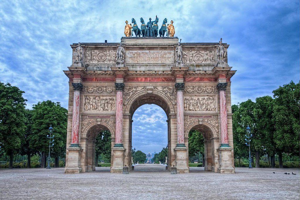 Arc Triomphe Carrousel