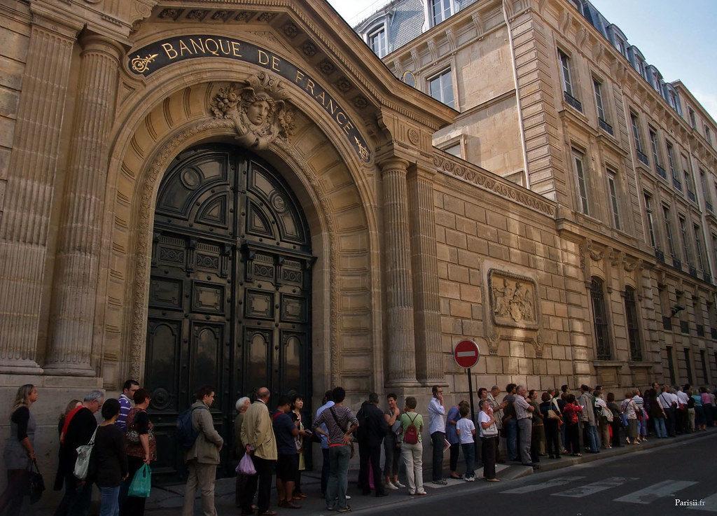Banque de France Ouverture au public