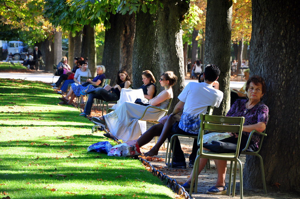 Chaise jardin Luxembourg