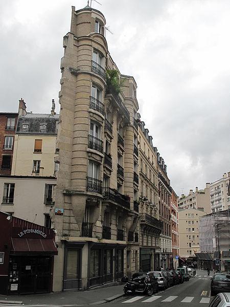 Immeuble le plus étroit Paris