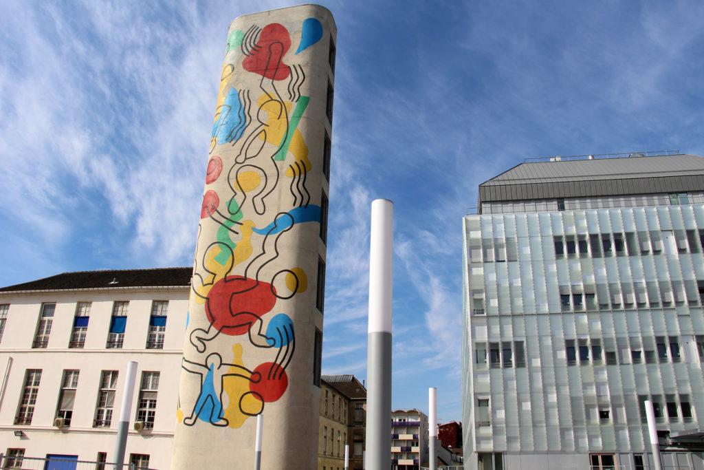 Keith Haring Necker