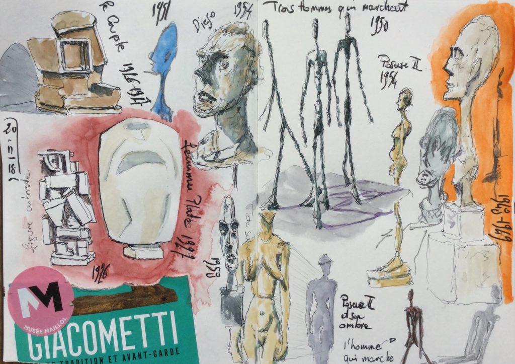 Musée Maillol Sketch