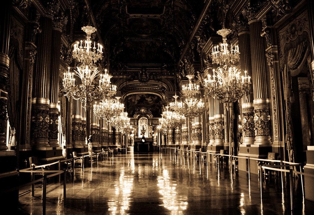 Opéra Garnier intérieur