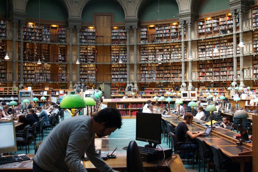 Salle Ovale Bibliothèque Nationale