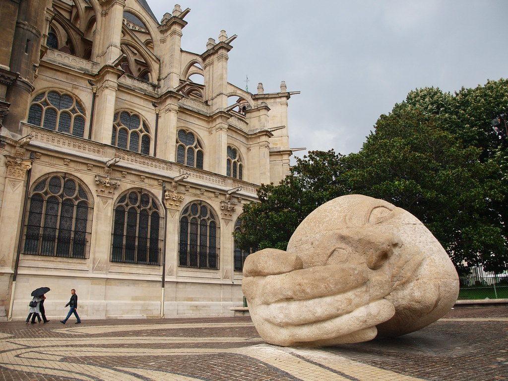 Statue Ecoute Paris