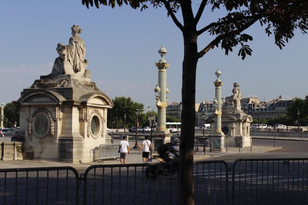 Statues femmes place de la Concorde